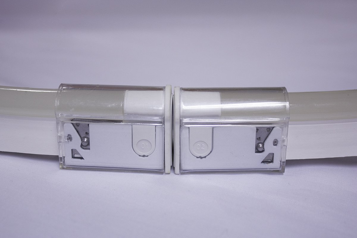 snap connector side view unlit